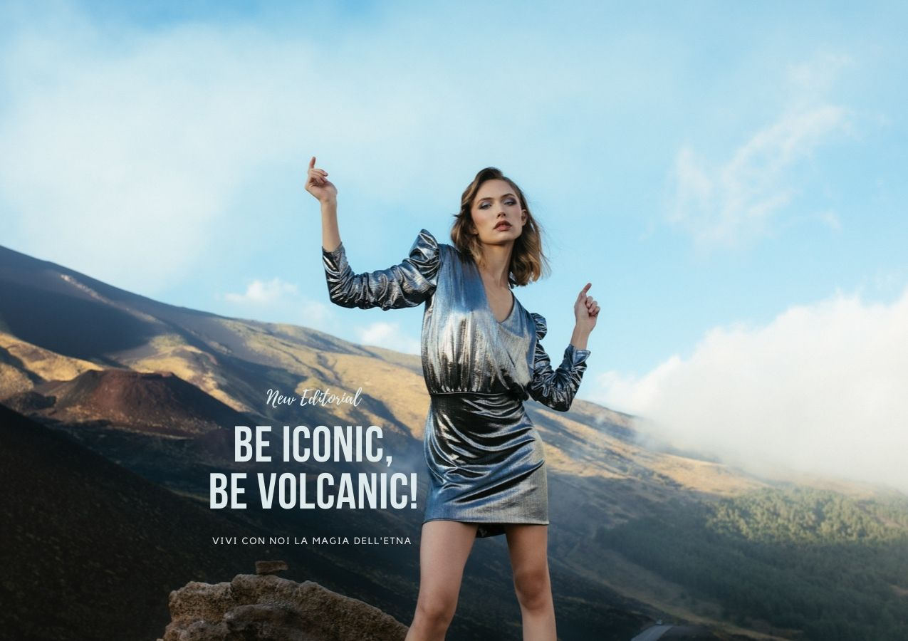 Be Iconic, Be Volcanic | Editorial Futur3 fashion