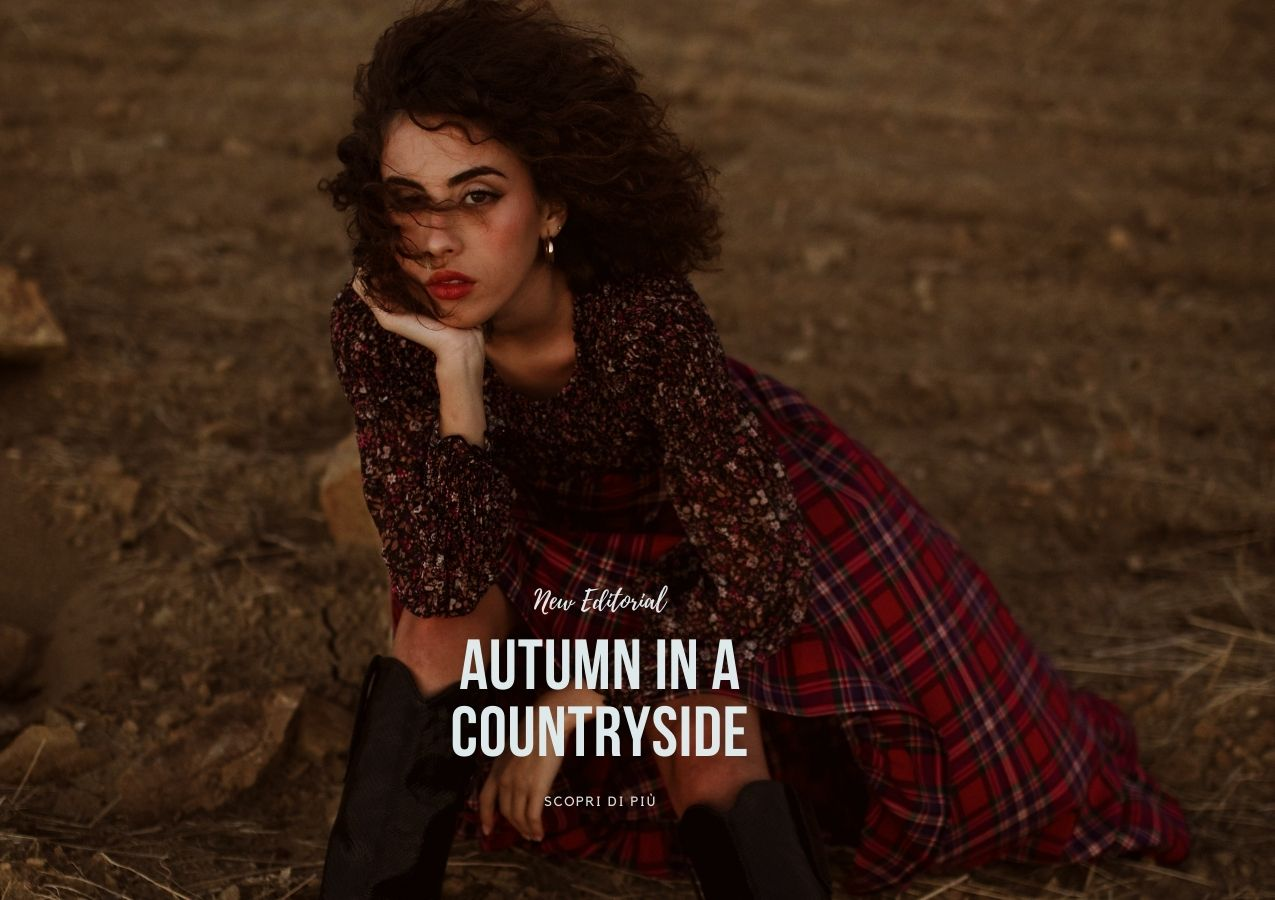 Futur3 fashion Editorial| Autumn in a Countryside