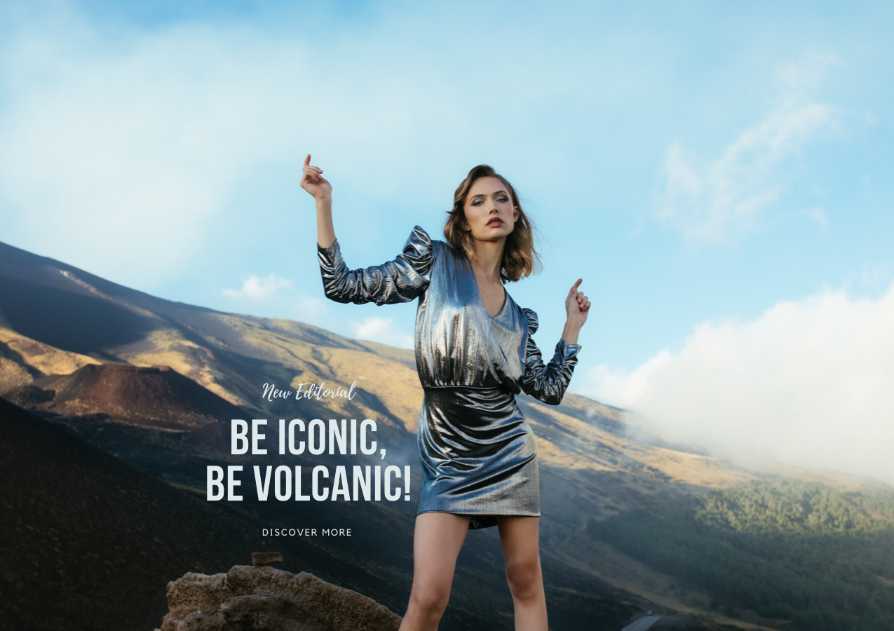 Futur3 Fashion | Editorial Be iconic Be volcanic