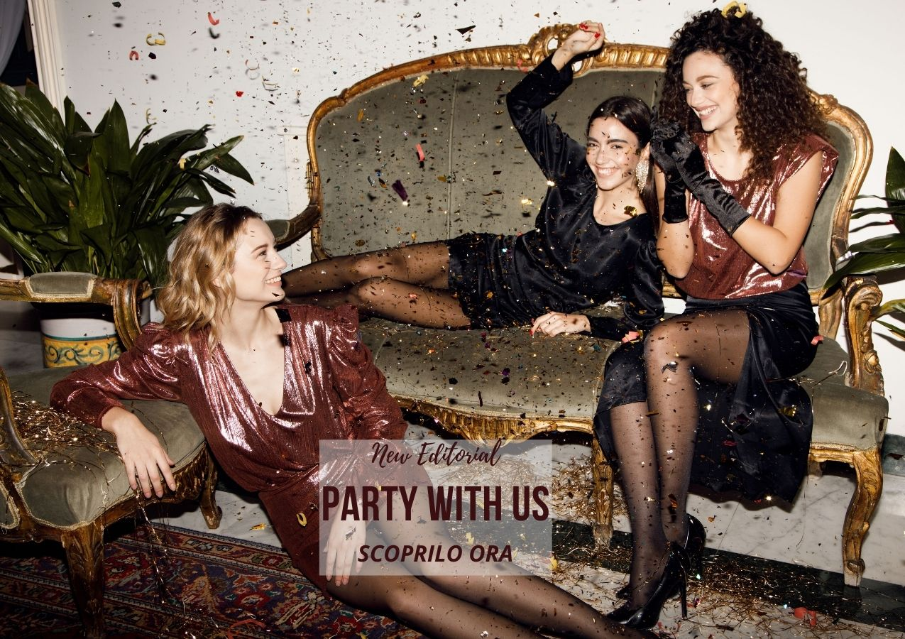 Party with us | Futur3 Fashion Christmas Editorial