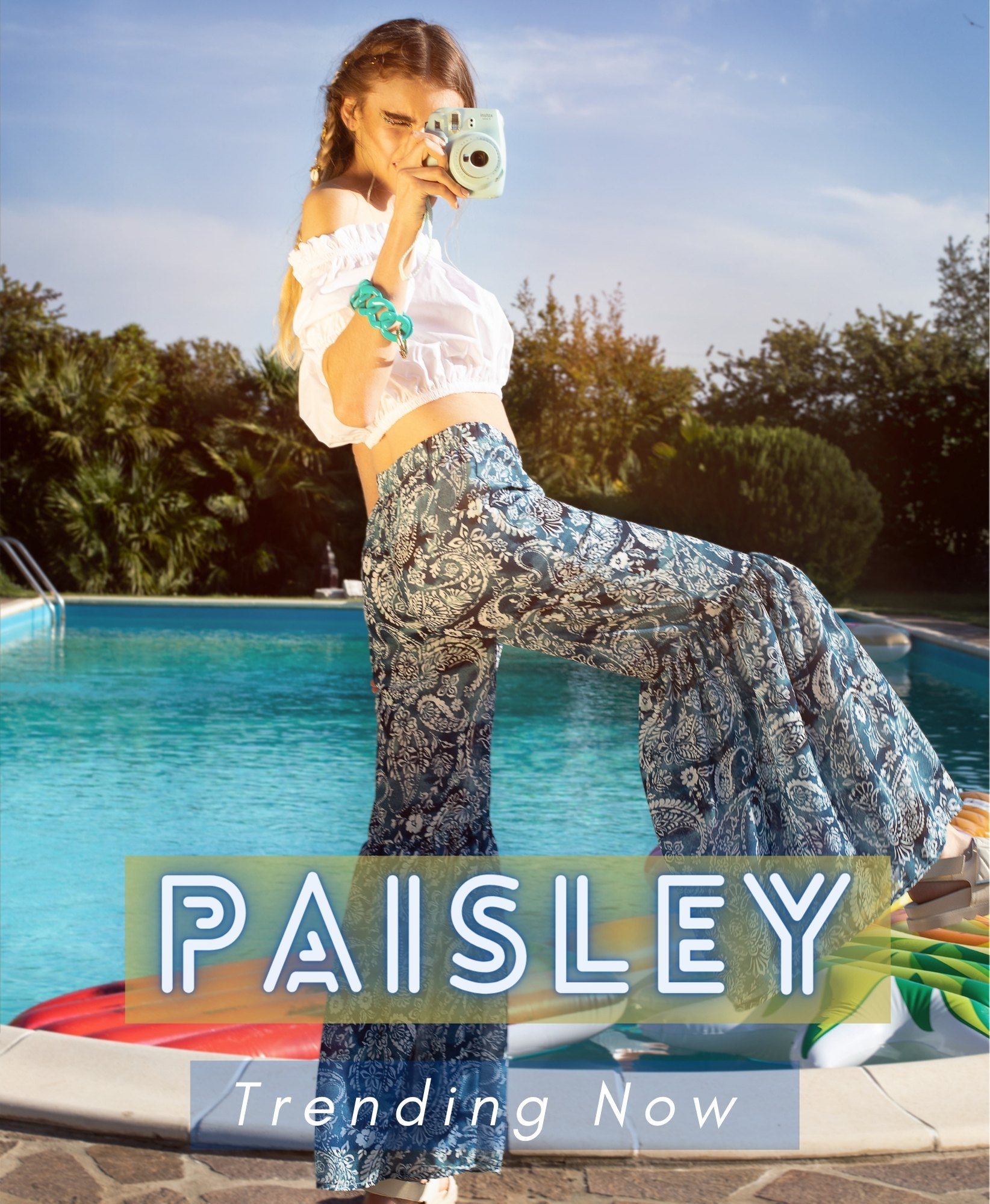 Paisley | Trend Summer 21 Collection Futur3 Fashion